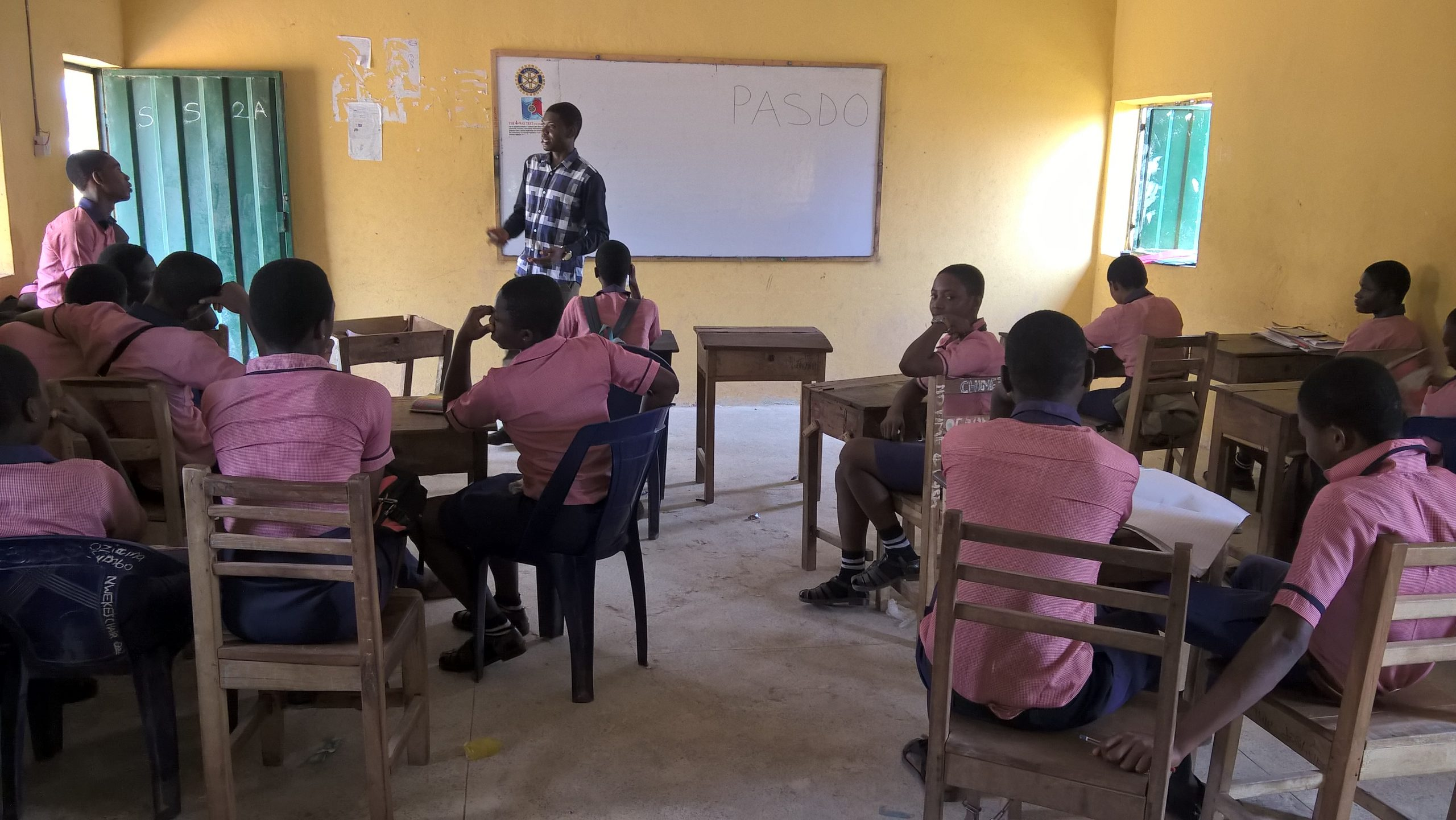 PASDO (formerly Zeeler Campaign) form Conservation Clubs in various secondary schools in Nigeria to promote the fight against climate change and gully erosion and protect biodiversity.